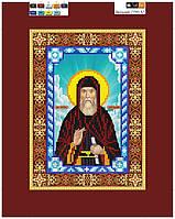 """Схема для вышивки бисером на подрамнике (холст) икона """"Святой Виталий"""""""