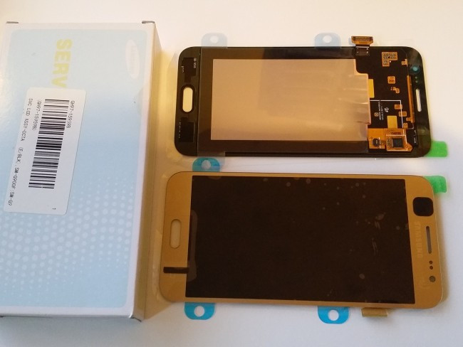 Дисплей Samsung J500 Galaxy J5 original 100% Gold
