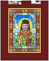 """Схема для вышивки бисером на подрамнике (холст) икона """"Святой Дионисий"""""""