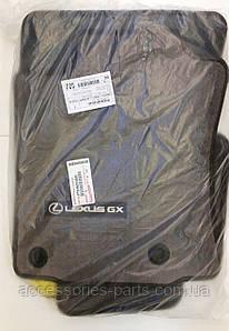 LEXUS GX 460  Коврики салона (Бежевые) Новые Оригинал