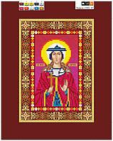 """Схема для вышивки бисером на подрамнике (холст) икона """"Святая Лариса"""""""