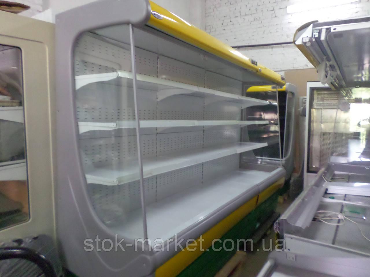 Холодильна гірка регал холодильний Интэко-Майстер ВІЛІЯ ВС 2,8 м.