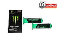 Ручка 0001 (пара)  Monster Energy (зеленый цвет) (CH)