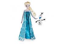 Кукла принцесса Эльза с снеговиком Олафом.Дисней Disney, фото 1