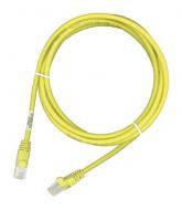 Патч-корд Molex RJ45 UTP 5e LS0H 2m Yellow (PCD-01003-0K)