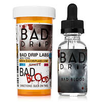 BAD DRIP BAD BLOOD (Черника Гранат Ваниль) (0МГ) 30МЛ