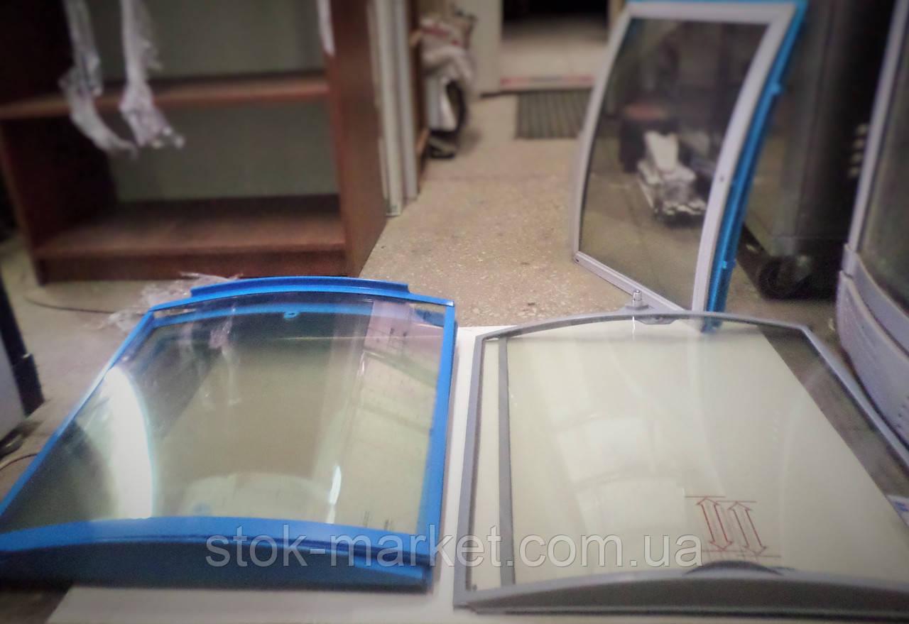Гнутые стекла для морозильных ларей б/у
