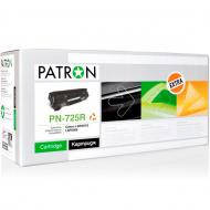 Совместимый картридж Patron 725 (PN-725R)(CT-CAN-725-PN-R) (i-SENSYS LBP6000/ 6020, MF3010) Black