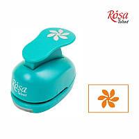 Фигурный дырокол,Цветок 2, 2,5 см, ROSA Talent