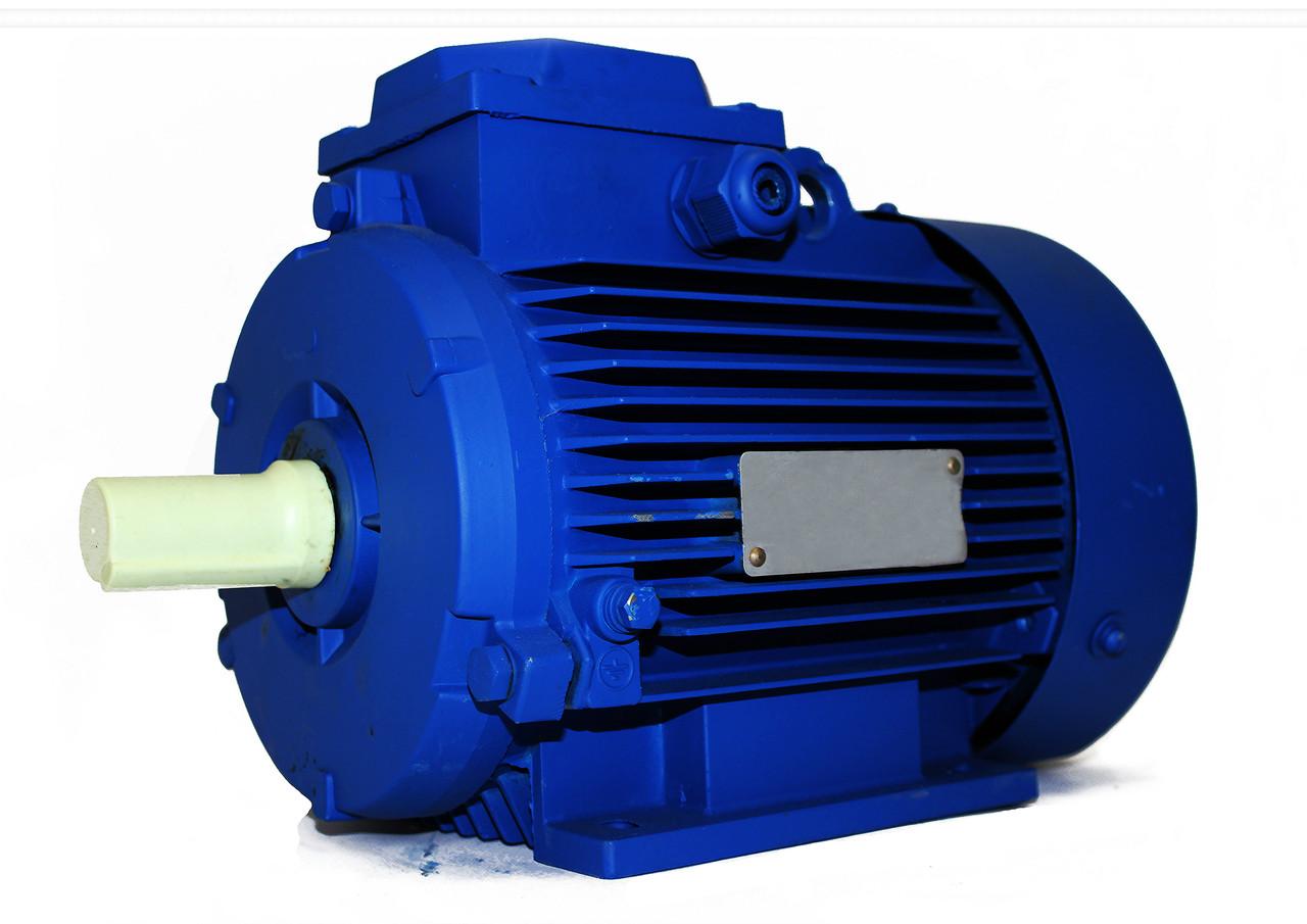 Трёхфазный электродвигатель АИР 132 S4 (7,5 кВт, 1500 об/мин)