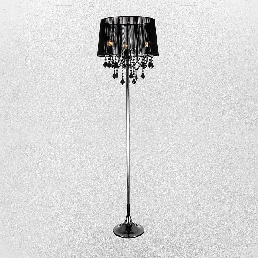 Торшер в классическом стиле (модель 20-7003BK-3 BK BLACK)