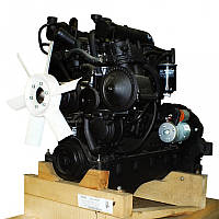 Двигатель Д245.9-402М (136 л.с) (оборуд. 24В)ЗИЛ-4329  (без генератора) (пр-во ММЗ)