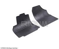 Автоковрики в салон RIGUM Citroen Berlingo (Ситроен Берлинго) / Peugeot Partner (Пежо Партнер) 08> black 2шт ,