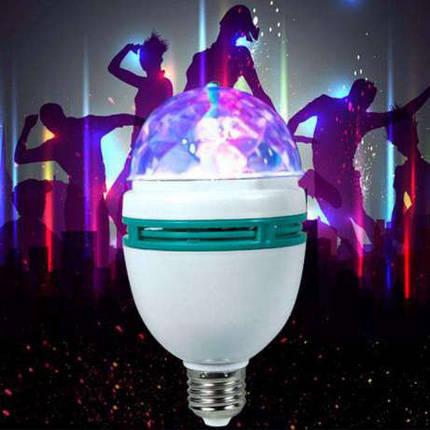 Диско лампа RGB LY-399, Диско лампа LASER LY 399 E27, фото 2