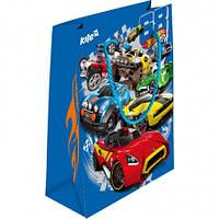 Пакет подарочный (Hot Wheels, Kite, бумажный, 26х32см, HW16-266)