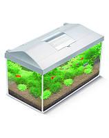 Аквариум стеклянный Aquael LEDDY SET 40, 25 л. /белый/