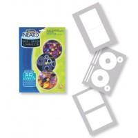 Матовые этикетки c вкладышами NEATO для CDDVD дисков, 20 шткомпл.