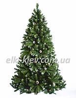 Ель европейская с шишками 1,0 - 2,5м искусственная новогодняя
