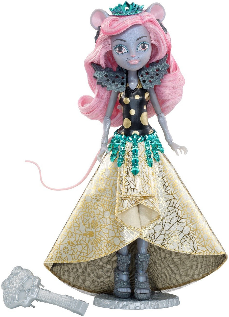Кукла Монстер Хай Мауседес Кинг серия Бу Йорк Monster High Ghoulfriends Mouscedes King