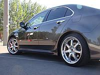 Комплект порогов Honda Accord Mugen style
