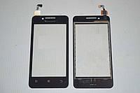 Оригинальный тачскрин / сенсор (сенсорное стекло) для Lenovo A319 (черный цвет, самоклейка)