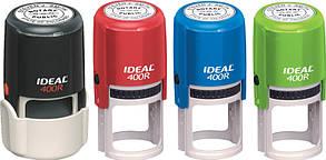 Оснастка для печатки IDEAL d40мм плас. з футляром 400R Ideal