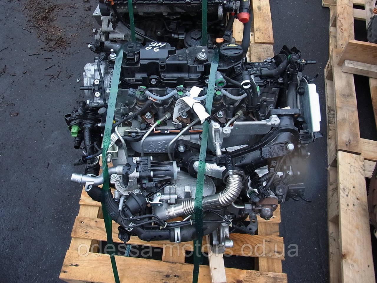 Двигатель Citroën Xsara Picasso 1.6 HDi, 2005-today тип мотора 9HX (DV6ATED4), фото 1