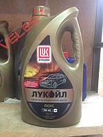 Масло моторне бензин. синтетика 5-40 люкс 4л Лукойл