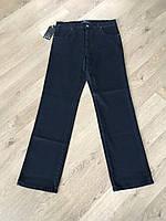 Мужские джинсы классические темно-синие прямые зимние весенние