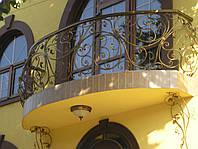 """Художественная ковка. Балконы любой сложности - плоские, """"дутые"""", дуговые"""