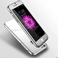 Чехол 360° 3 в 1 полная защита + стекло для Iphone 6/6S 4.7