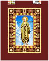 """Схема для вышивки бисером на подрамнике (холст) икона """"Святая Мария"""""""