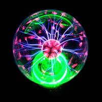 Плазменный шар, размер 4 дюйма 10 см, плазма шар магический шар Тесла Катушка Тесла