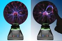 Плазменный шар, размер 6 дюйма 15,25 см, плазма шар магический шар Тесла Катушка Тесла