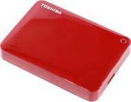 Внешний винчестер 2TB Toshiba Canvio Connect II Red (HDTC820ER3CA)