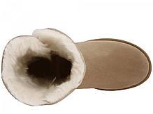 Угги UGG Bailey Button кремовые топ реплика, фото 2
