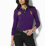 У стилі Ральф лорен поло жіноча сорочка ралф лорен купити в Україні, фото 2