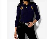 У стилі Ральф лорен поло жіноча сорочка ралф лорен купити в Україні, фото 4
