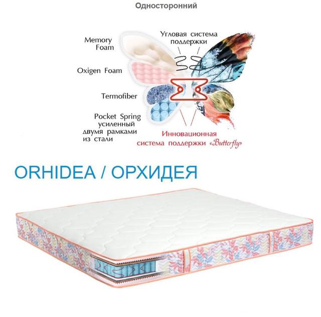 Матрас Орхидея (ORHIDEA) односторонний высота 20 см