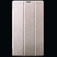 Кожаный чехол-книжка TTX Elegant Series для Lenovo Tab 2 A7-30             Золотой