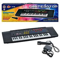 Синтезатор, детское пианино с микрофоном SK 3738