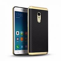 Чехол iPaky TPU+PC для Xiaomi Redmi Note 4 (MTK) Черный / Золотой