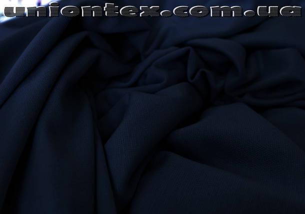 Французский трикотаж темно-синий, фото 2