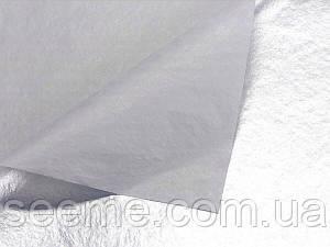 Бумага тишью, серебро, 1 лист