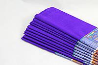 Креп-бумага(гофрированная-тёмно фиолетовая 50х200)