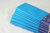 Голубая креп-бумага 100%