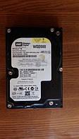 "Жесткий диск HDD на 200 Gb SATA 3.5"" Western Digital ДЛЯ стационарного ПК ( 200Gb sata2 3.5 "") Б/У но ИДЕАЛ"