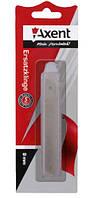 Лезвие сменное для канцелярского ножа 9 мм., 10 шт./уп. AXENT