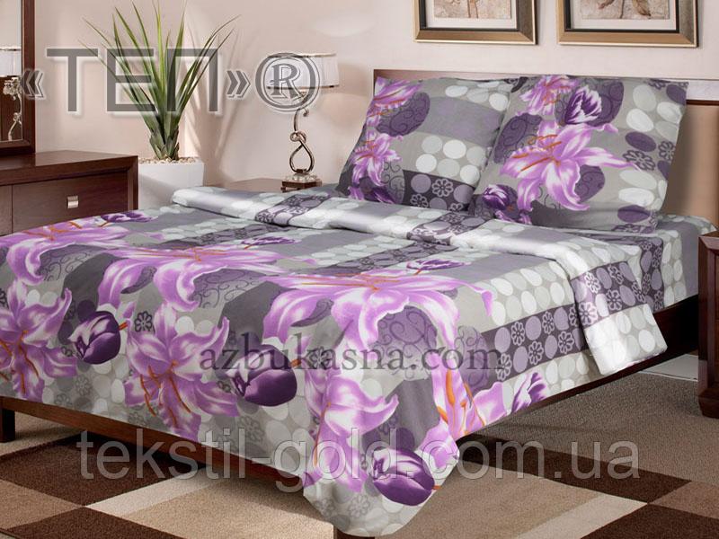 Комплект постельного белья 937 «Скарлет» ТМ ТЕП (Украина) бязь двухспальный