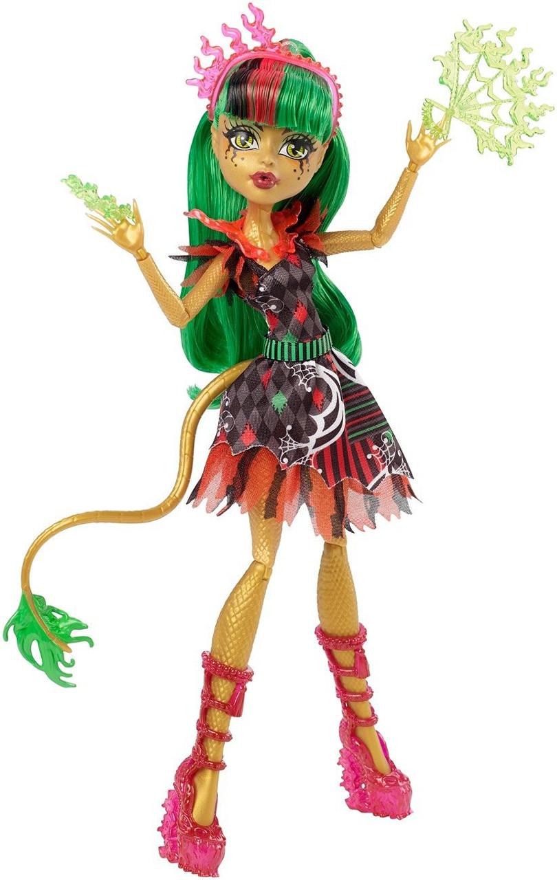 Кукла Монстер Хай Джинафаер Лонг Фрик ду Чик Monster High Freak du Chic Jinafire Long Doll